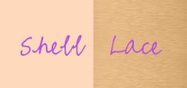 shell/lace