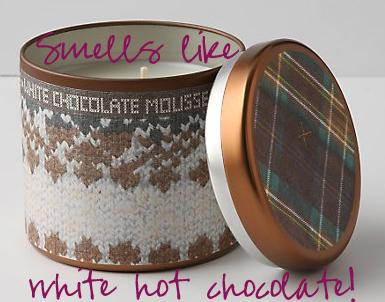 white choco mousse