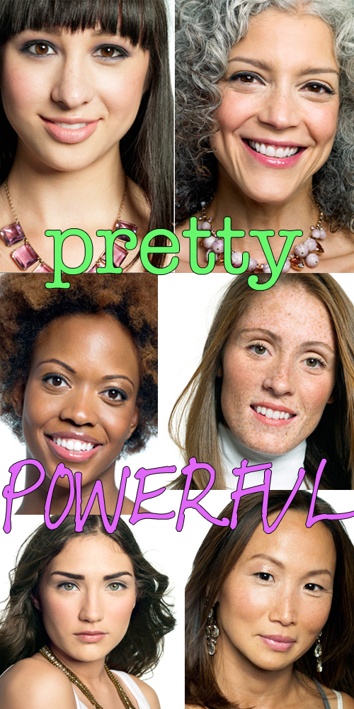 Images from Bobbi Brown's Pretty Powerful Campaign  ~ Issey Miyake Fleur De Bois