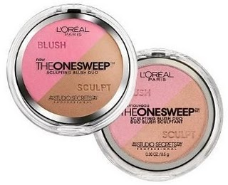 L'Oreal Studio Secrets The OneSweep Sculpting Blush Duo   SugarSocial
